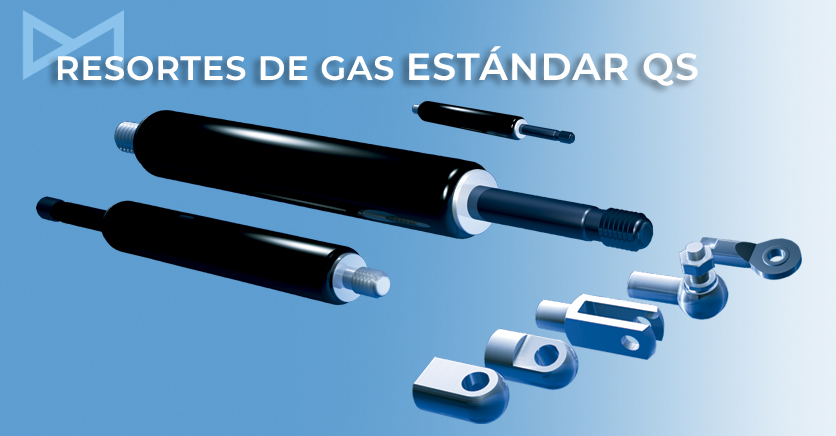 Resorte de gas Bansbach