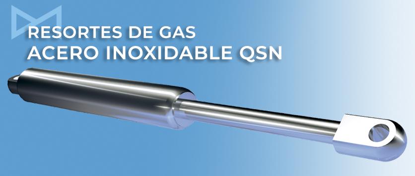 Resorte de gas acero inoxidable Bansbach