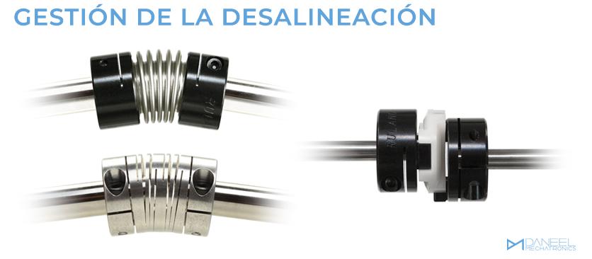 Gestión de la desalineación Daneel Mechatronics